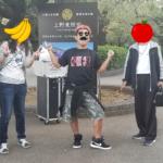 今日の上野公園の大道芸10月9日 大道芸人GEN(ジェン)ソロ