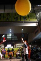 三茶de大道芸2019夜会 アルジェントさーかす 風船飛ばし