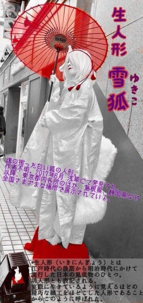 雪狐(生人形)