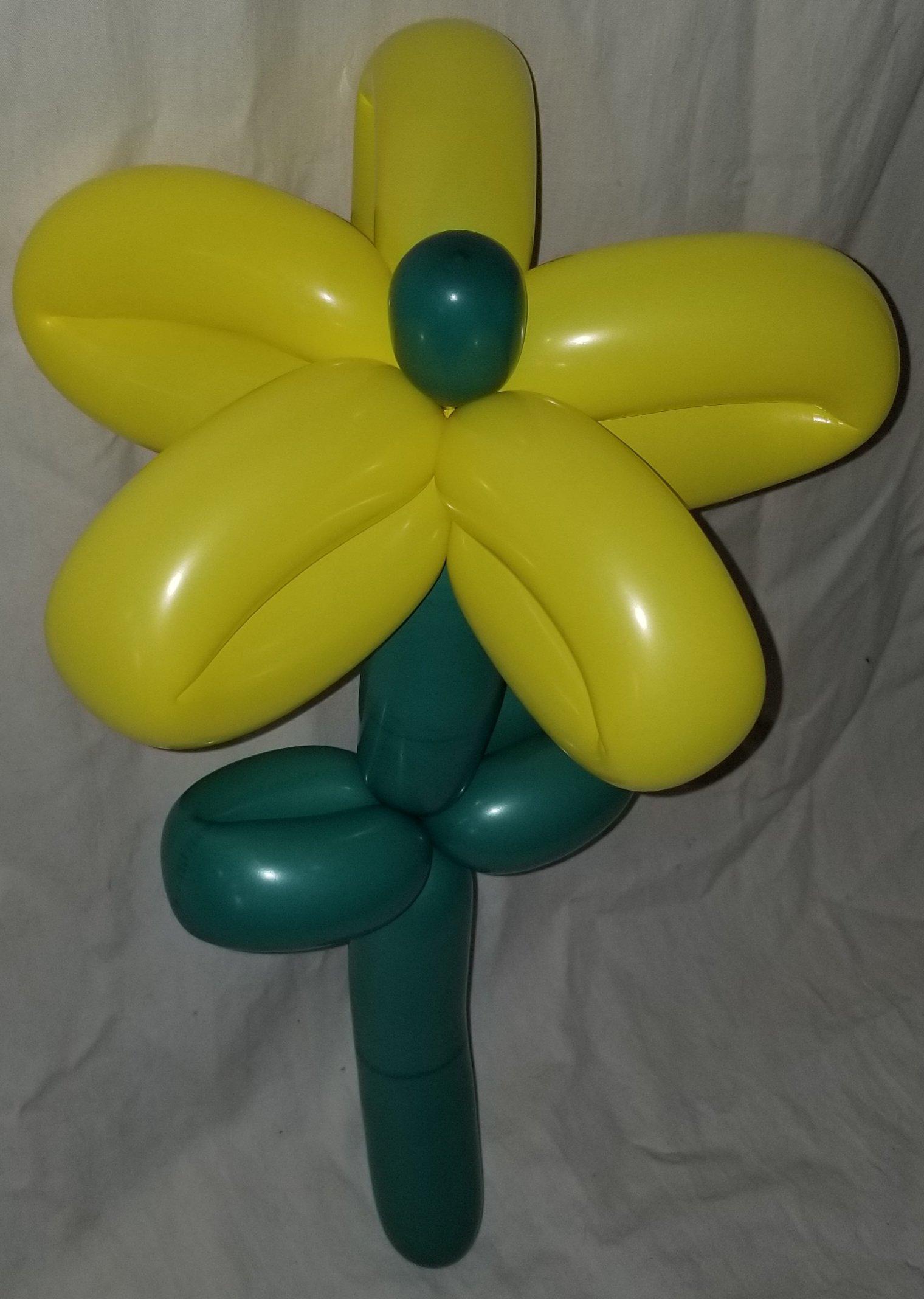 いつつ花のバルーンアート