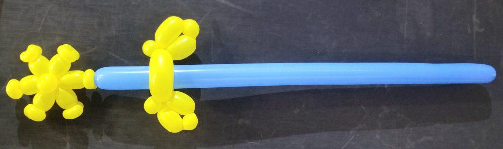 バルーンアートの剣