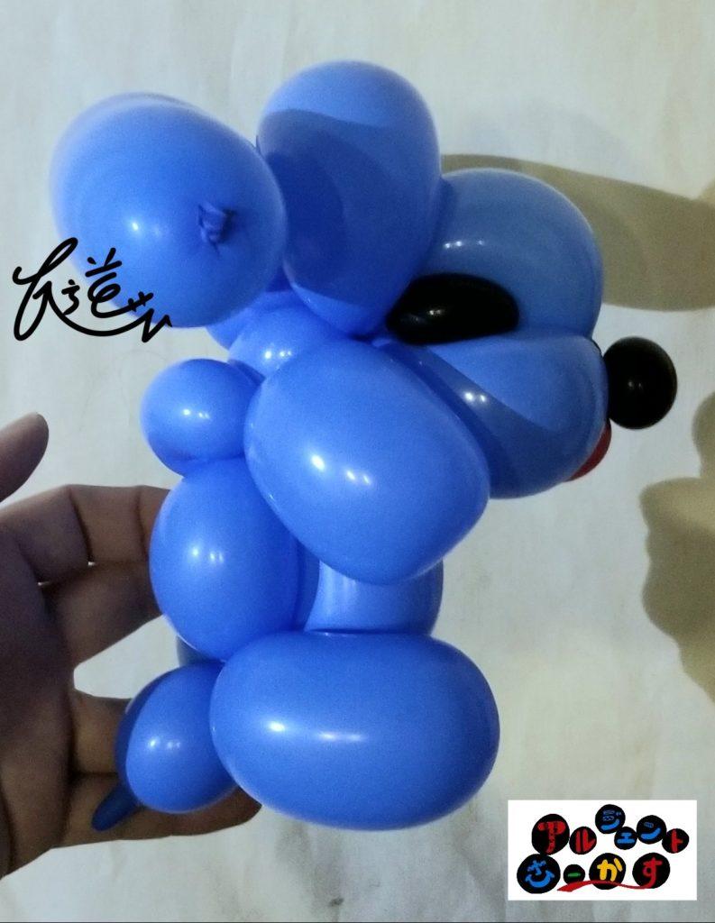 バルーンアートの犬